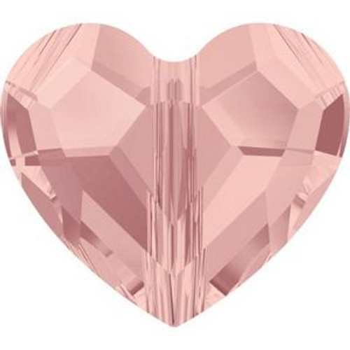 Swarovski 5741 12mm Love Beads Blush Rose