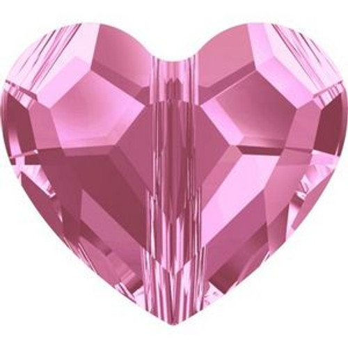 Swarovski 5741 8mm Love Beads Rose