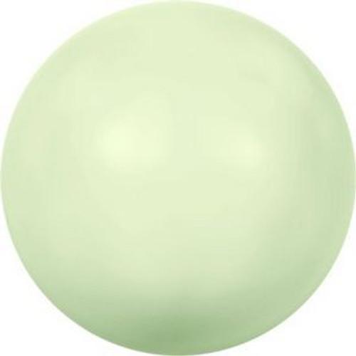 Swarovski 5817 6mm Half-Dome Pearls Pastel Green Pearl