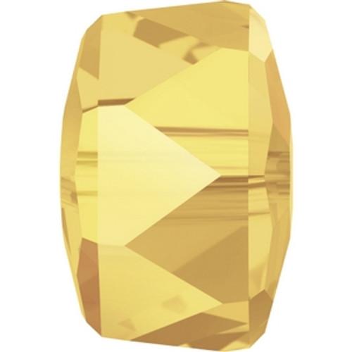 Swarovski 5045 4mm New Rondelle Beads Crystal Metallic Sunshine