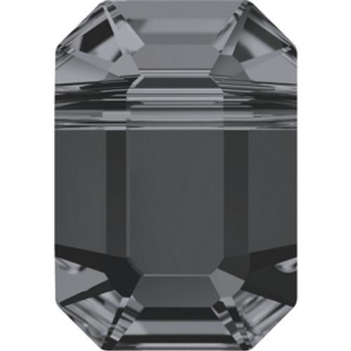 Swarovski 5514 8mm Pendulum Beads Crystal Silver Night