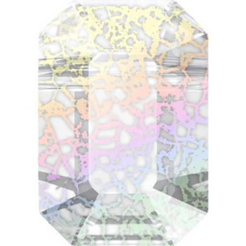 Swarovski 5514 10mm Pendulum Beads Crystal White Patina