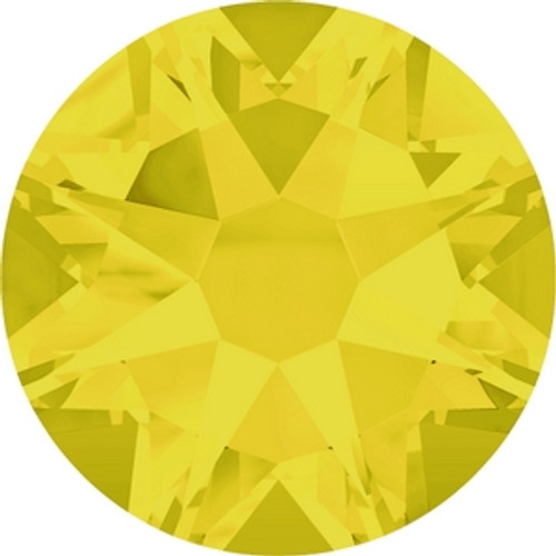 Swarovski 2088 34ss Xirius Flatback Yellow Opal (144 pieces )