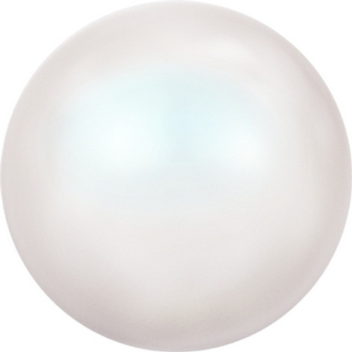 Swarovski 5818 10mm Half-Drilled Pearls Crystal Pearlescent White Pearl (100 pieces )