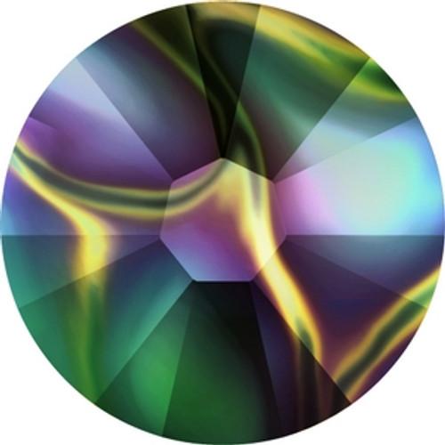 Swarovski 2058 5ss Crystal Rainbow Dark Xilion Flatbacks