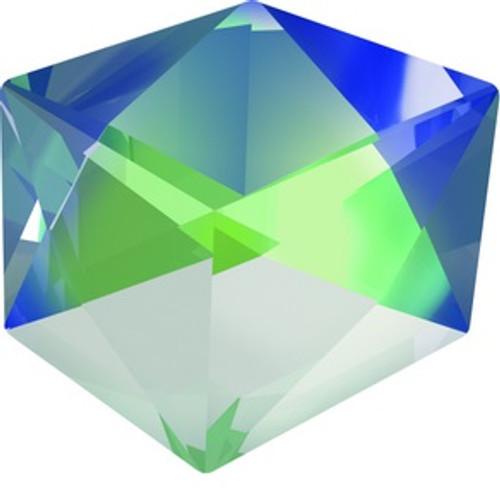 Swarovski style # 4933 Tilted Dice Fancy Stones Crystal SAHZ-CAL-VSI