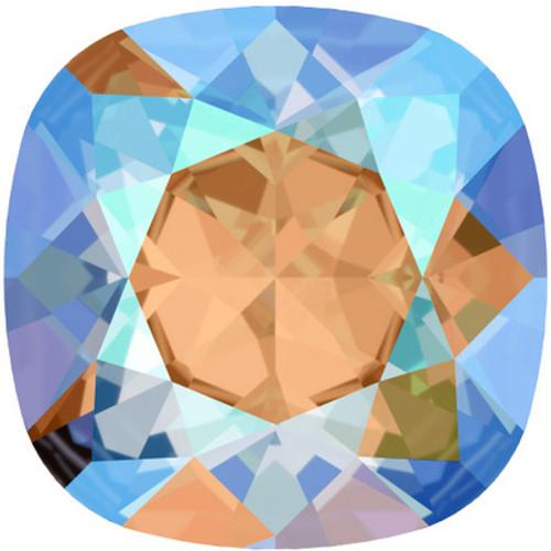 Swarovski 4470 10mm Cushion Fancy Stones Light Colorado Topaz Shimmer