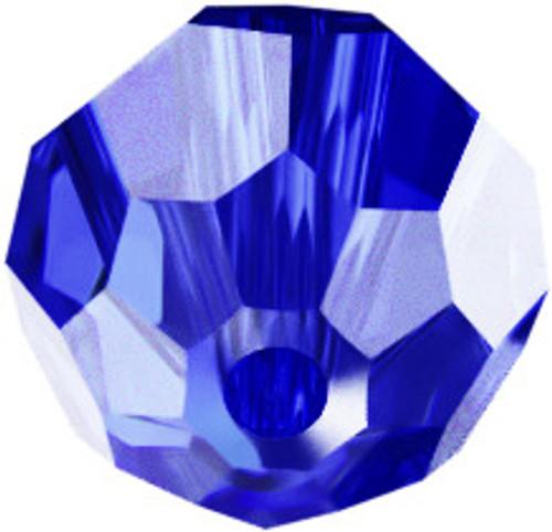 Swarovski 5328 6mm Xilion Bicone Beads Majestic Blue AB (360 pieces)