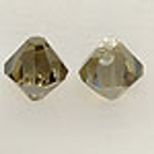 On Hand: Swarovski 6328 8mm Top-drilled Bicone Jonquil Satin (36 pieces)