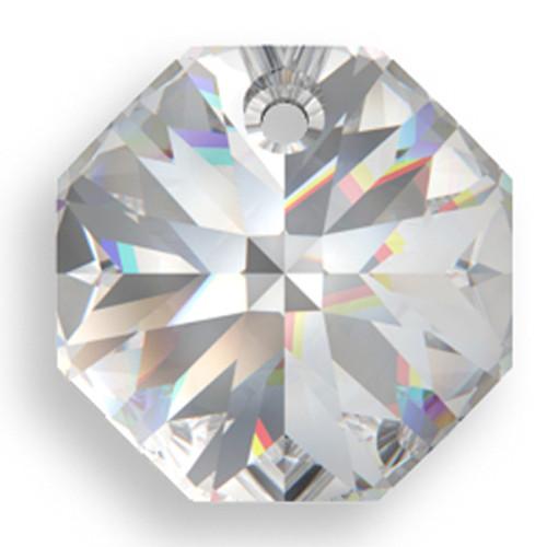 On Hand: Swarovski 6401 12mm Octagon Pendant Crystal (18  pieces)