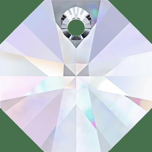 On Hand: Swarovski 6401 12mm Octagon Pendant Crystal AB (18  pieces)