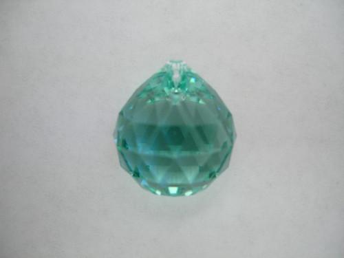 On Hand: Swarovski 8550 20mm Ball Prism Antique Green (4 pieces)