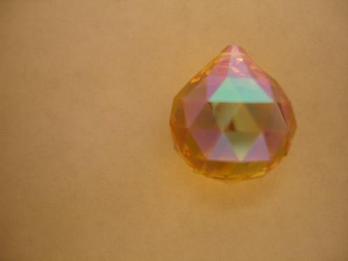 On Hand: Swarovski 8550 20mm Ball Prism Light Topaz AB