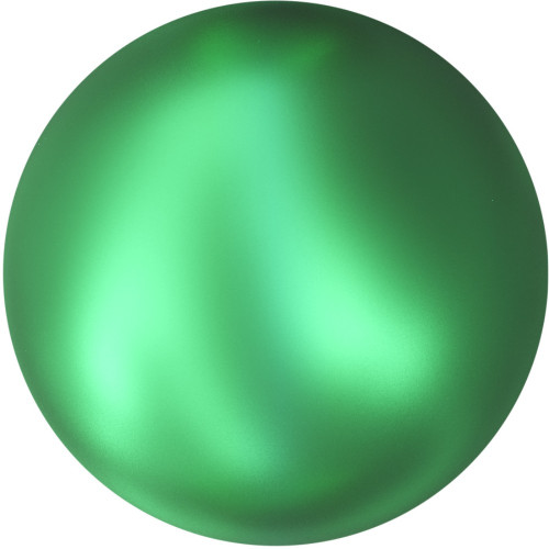 5818 Half-Drilled Pearls 10mm Crystal Eden Green Pearl