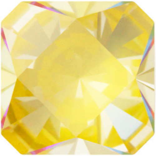 4499 Kaleidoscope Square Fancy Stones 10mm Crystal Sunshine DeLight