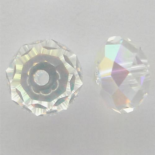 Swarovski 5040 6mm Rondelle Beads Crystal AB