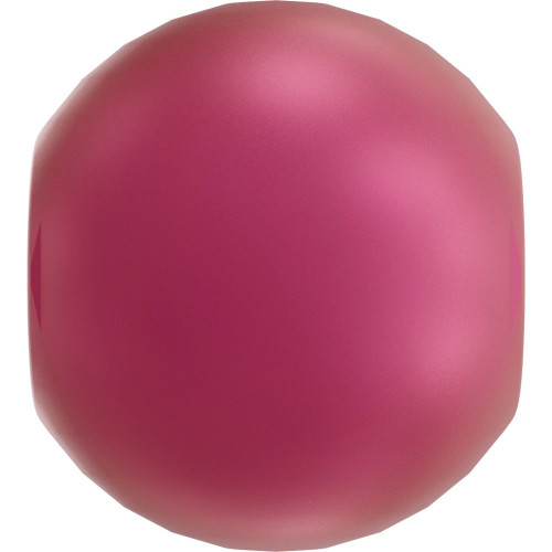 On Hand: Swarovski 5810 6mm Round Pearls Mulberry Pink (100  pieces)