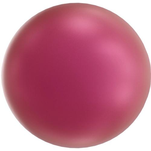 Swarovski 5818 6mm Half-Drilled Pearls Mulberry Pink