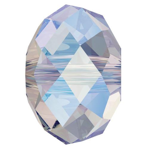 Swarovski 5040 8mm Rondelle Beads Crystal Shimmer 2X