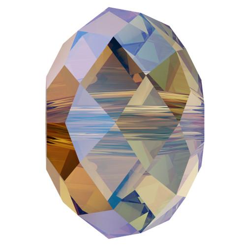 Swarovski 5040 8mm Rondelle Beads Light Colorado Topaz Shimmer 2X (288 pieces)