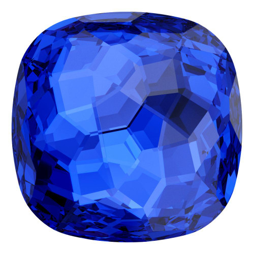 Swarovski 4483 12mm Fantasy Cushion Cut Fancy Stones Majestic Blue