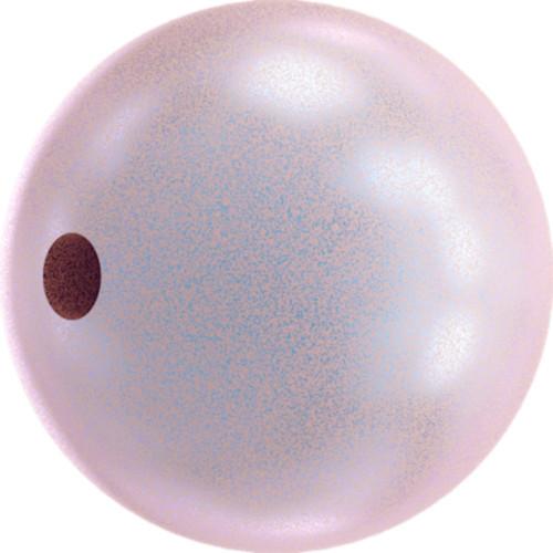 Swarovski 5810 10mm Round Pearls Iridescent Dreamy Rose