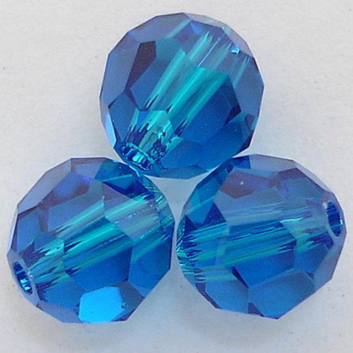 f7d87bab5 Swarovski 5000 6mm Round Beads Capri Blue (360 pieces)