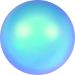 Crystal Iridescent Light Blue Pearl