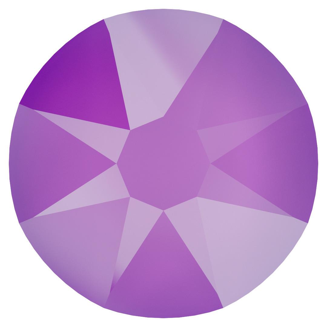 Crystal Electric Violet Hot Fix