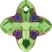 Peridot Scarabaeus Green