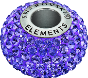 80201 BeCharmed Pavé Beads with Square Stones