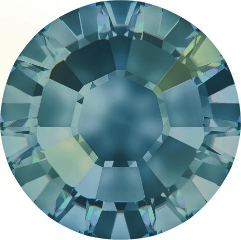 Crystal Blue Shade Hot Fix