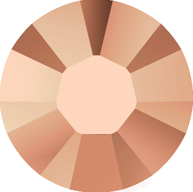 Crystal Rose Gold Hot Fix