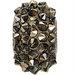 Crystal Metallic Gold