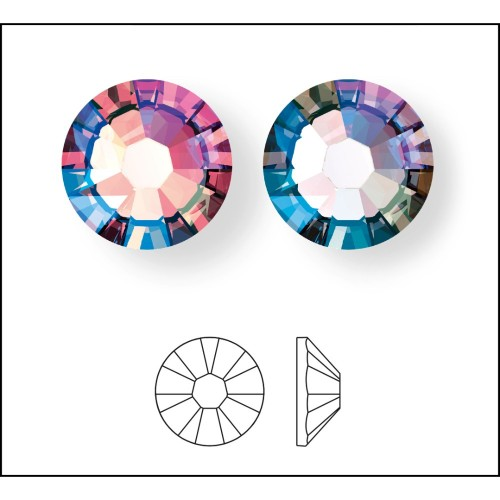 8456d3648 swarovski-crystal-flatback-rhinestones-lright-rose-shimmer-and-