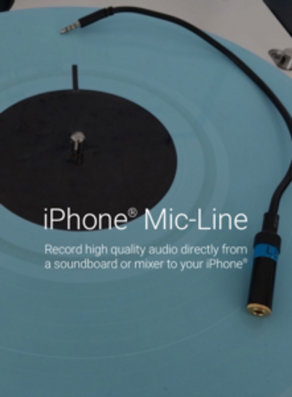 Record Line-Level Audio Directly to Your iPhone
