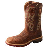 "Men's 12"" Western Work Boot - MXB0004"