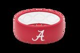 Alabama Crimson Collegiate Silicone Rings