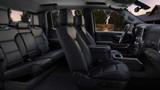 GMC® Sierra Denali Black Leather Interior