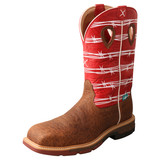 """Men's 12"""" Western Work Boot - MXBNW01"""