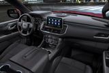 Chevrolet Tahoe Black Leather Interior