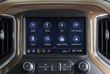 Dash Board of Chevrolet Silverado including a touch screen with Chevrolet's infotainment