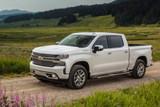 White Chevrolet Silverado on dirt road