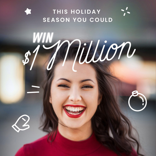 $1,000,000 Grand Prize Cash Giveaway