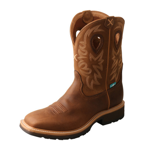"Men's 11"" Western Work Boot - MCWW002 image 1"