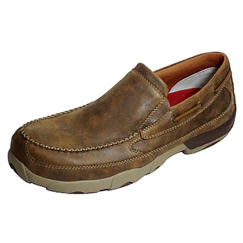 Men's Work Slip-On Driving Moc - MDMSC03 image 1