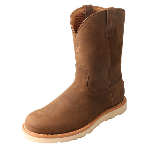 "Men's 10"" Work Pull On Wedge Sole Boot - MCB0001 image 1"