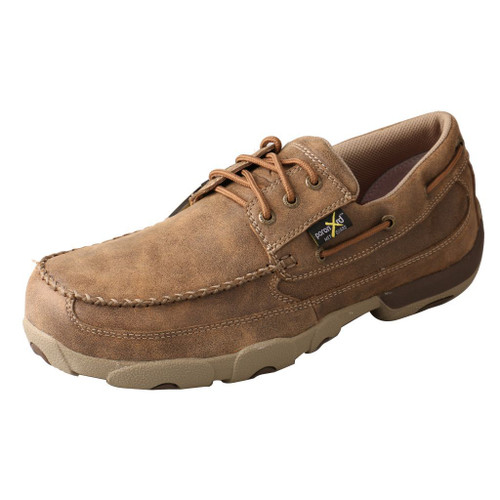Men's Work Boat Shoe Driving Moc - MDMSTM1 image 1