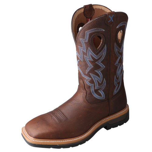 "Men's 12"" Western Work Boot - MLCS003 image 1"