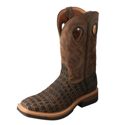 "Men's 12"" Western Work Boot - MLCA003 image 1"